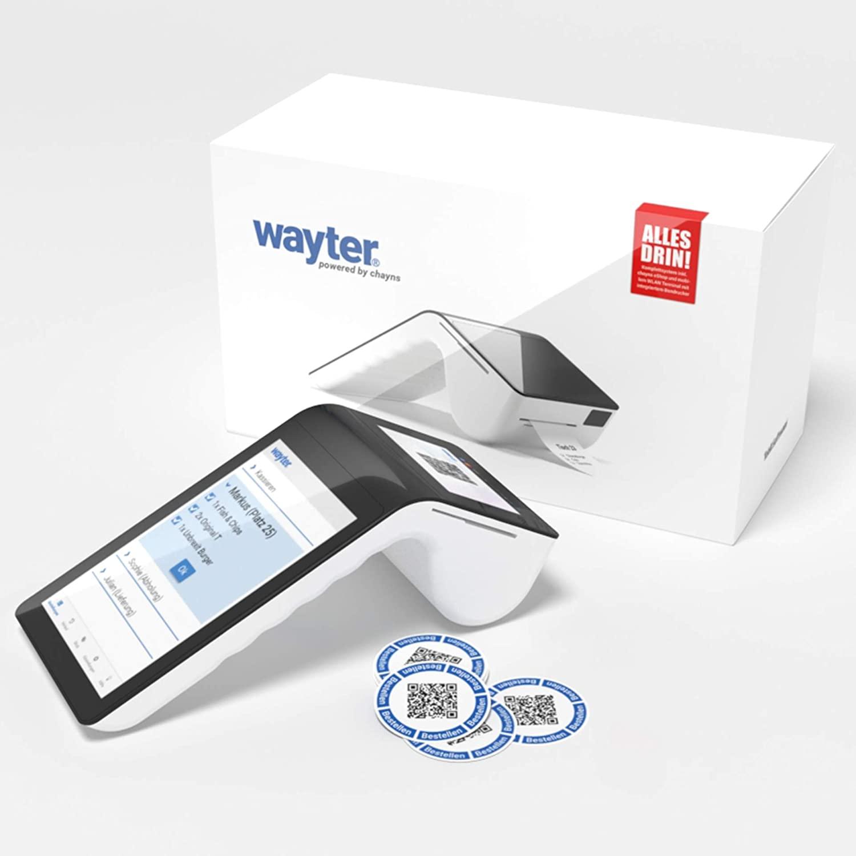 Digitale Bonausgabe mit WAYTER