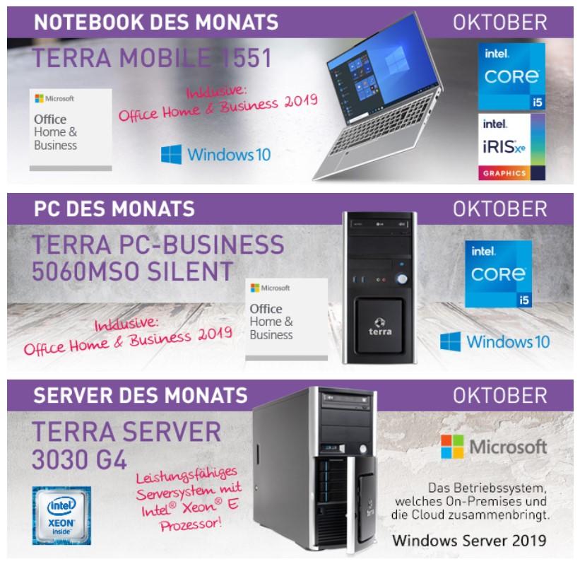 Unsere Produkte des Monats Oktober