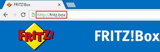 Anmeldung Fritzbox