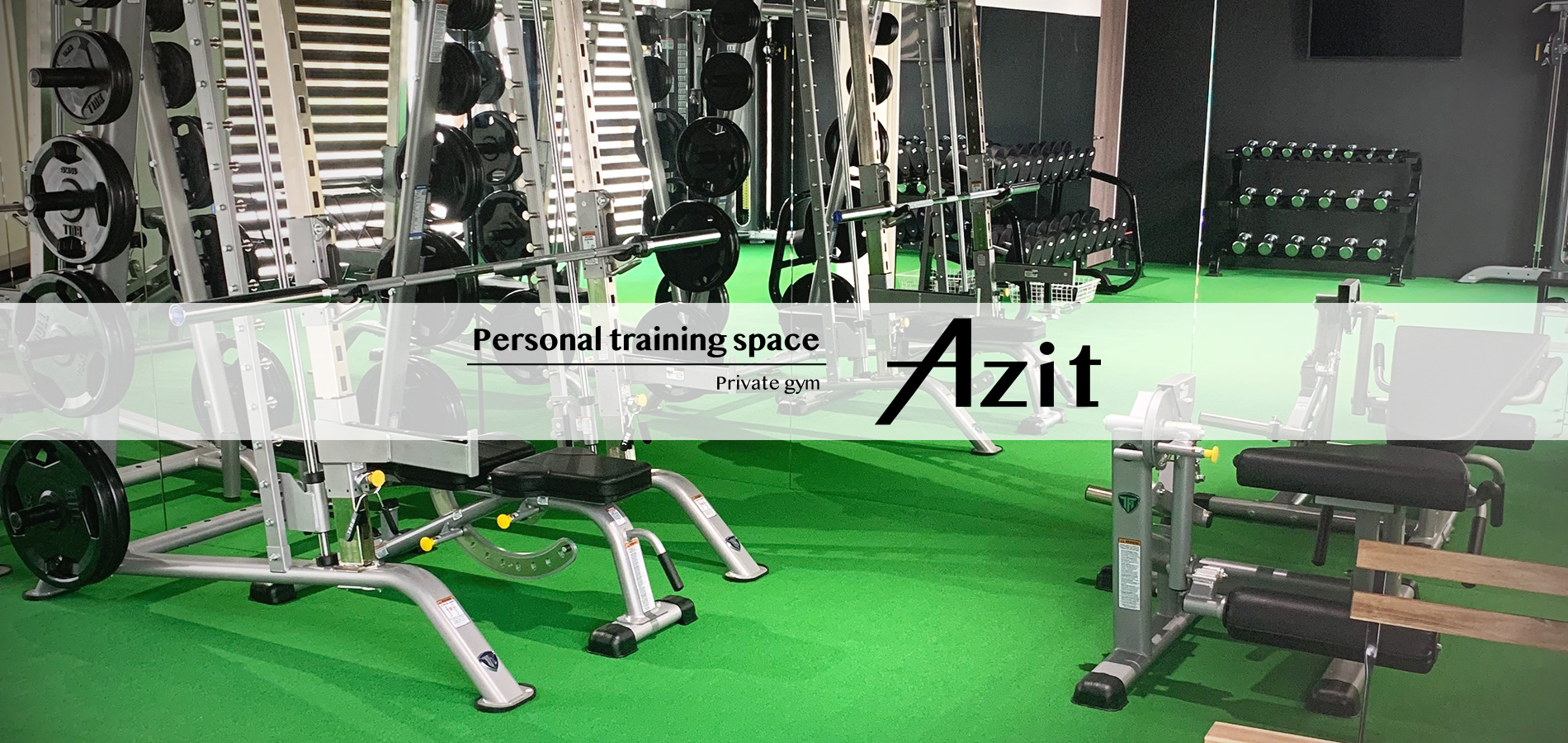 Personal training space Azit