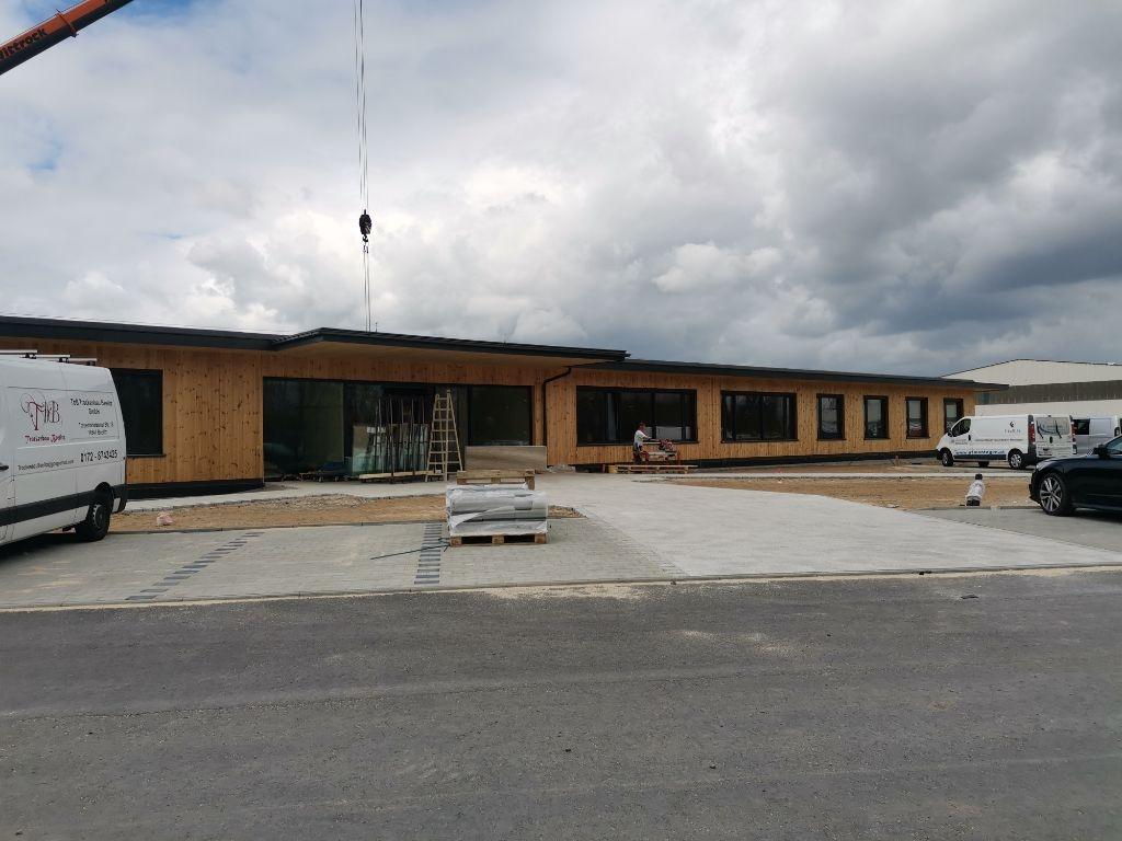 Neubau Bürogebäude Binderholz Baruth