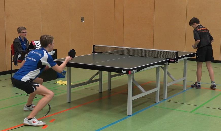 Konnte diesmal nur ein Einzel gewinnen: Spitzenspieler Sebastian Fischer
