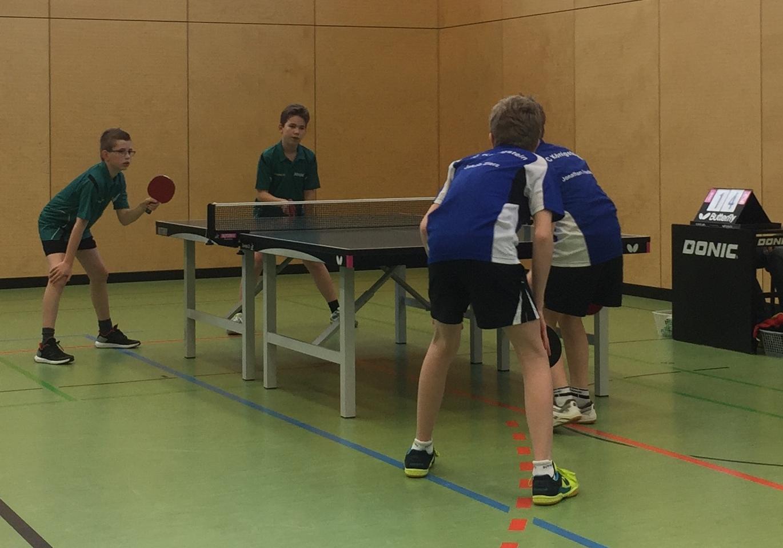 Wieder im Doppel erfolgreich: Jakob Zierz und Jonathan Friedel