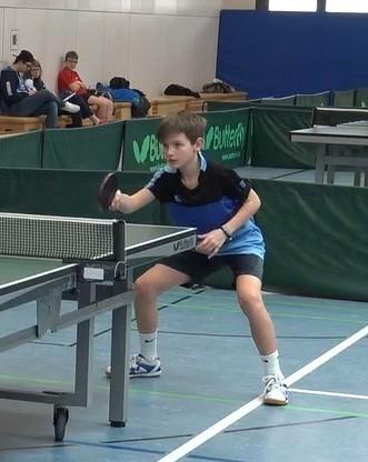 Konnte in seinem ersten Ranglistenjahr als B-Schüler auch die Endrunde der A-Schüler erreichen: Konstantin Weger