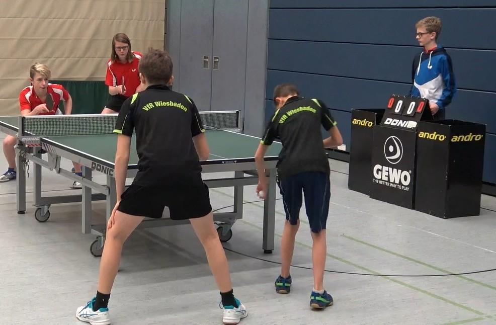 Noch ohne Niederlage in der Rückrunde: das Königsteiner Doppel Leo Schuster-Sebastian Fischer