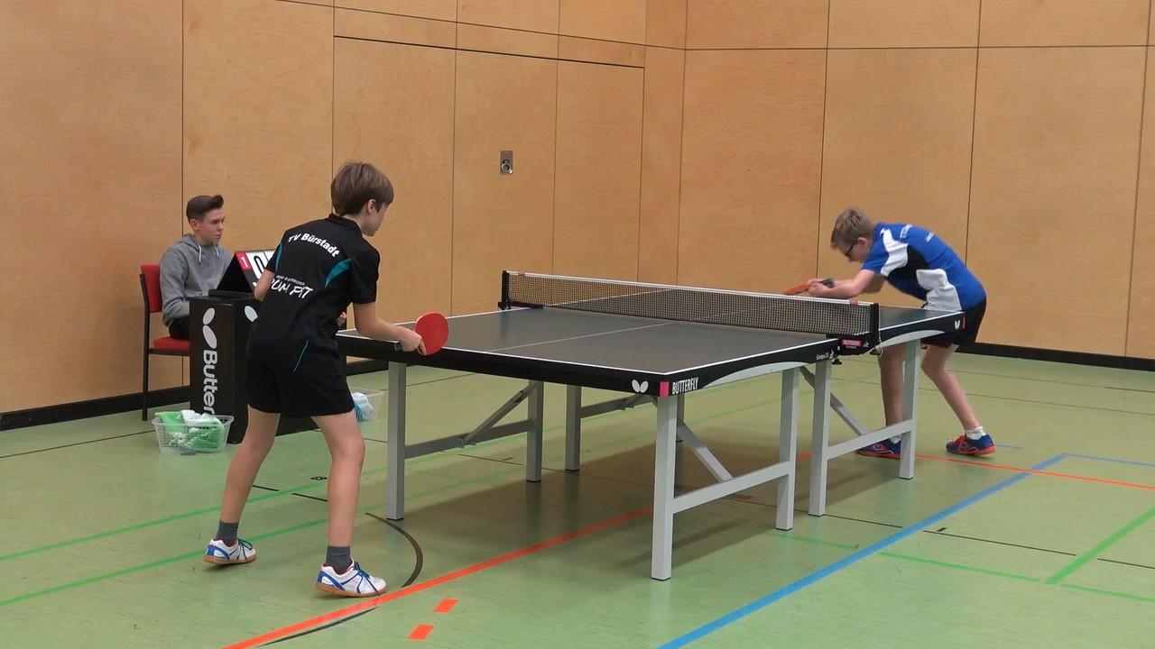 Gewann mit einer großartigen Leistung gegen den Bürstädter Spitzenspieler: Jakob Zierz