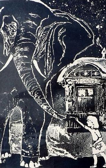 LE REPAS DES ELEPHANTS