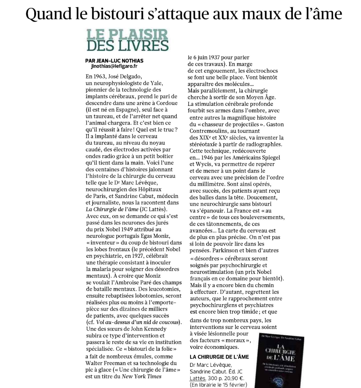 Le Figaro - 6 février 2017