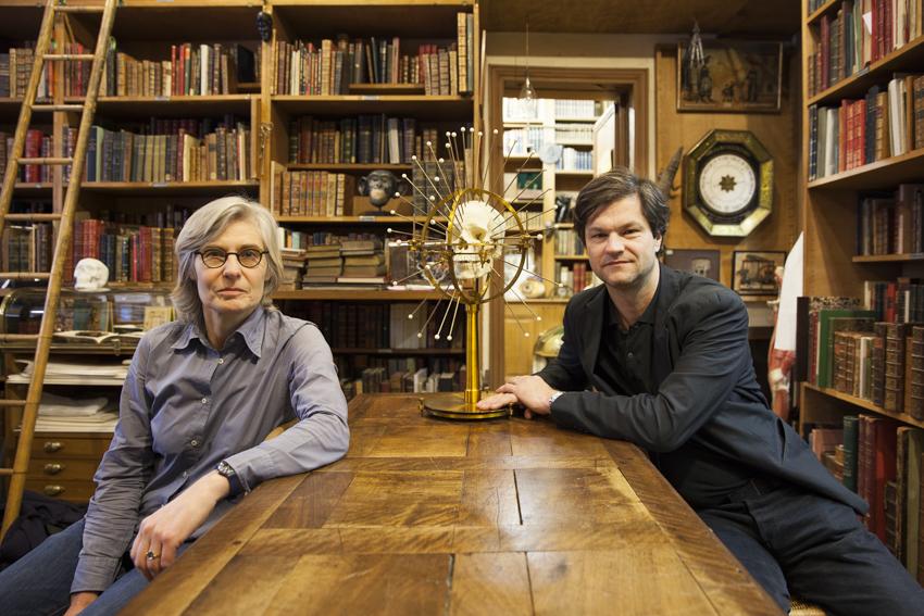 Librairie Alain Brieux, 48 Rue Jacob (sans doute la plus belle librairie de livres médicaux anciens de notre pays)