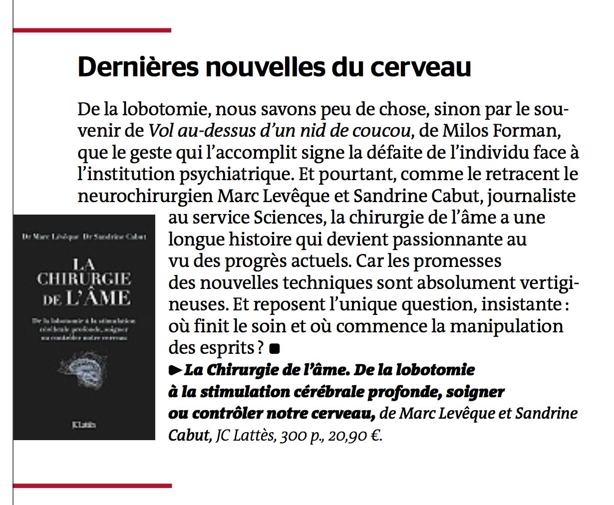 Le Monde - 16 mars 2017
