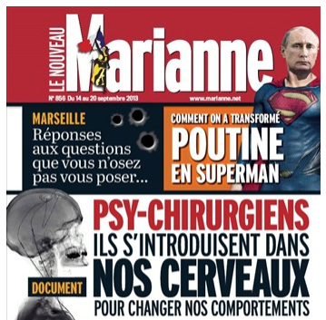 Marianne - Psy-chirurgiens, ils s'introduisent dans nos cerveaux pour changer nos comportements - 14/09/13