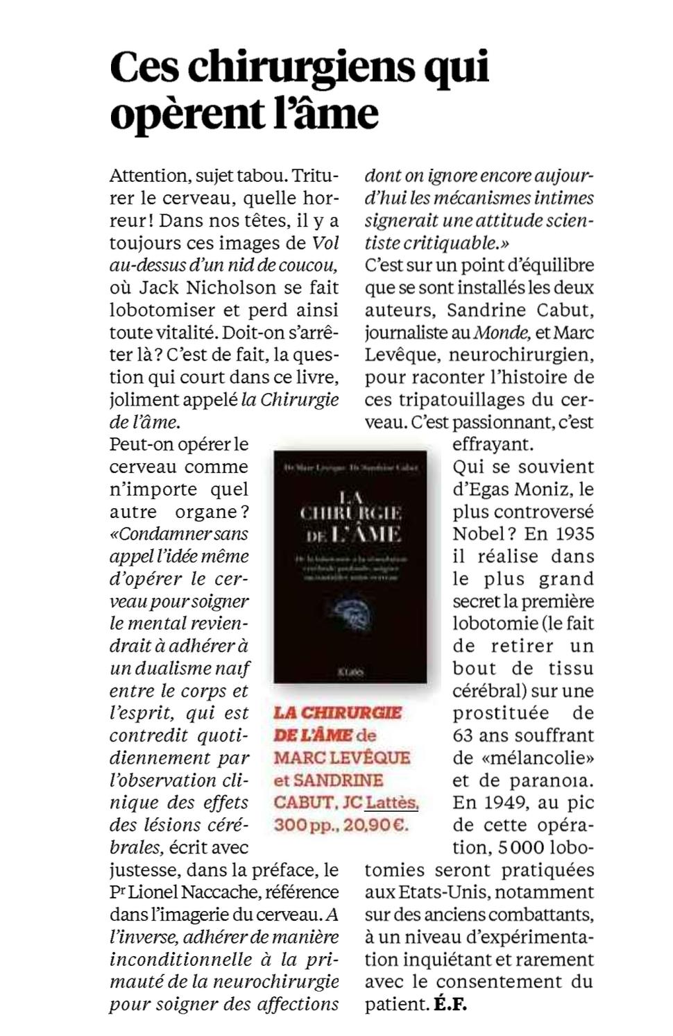 Libération - 4 mars 2017