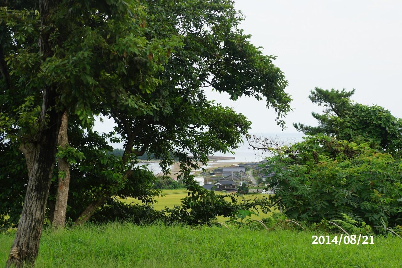 8月21日:日本海のうつろい