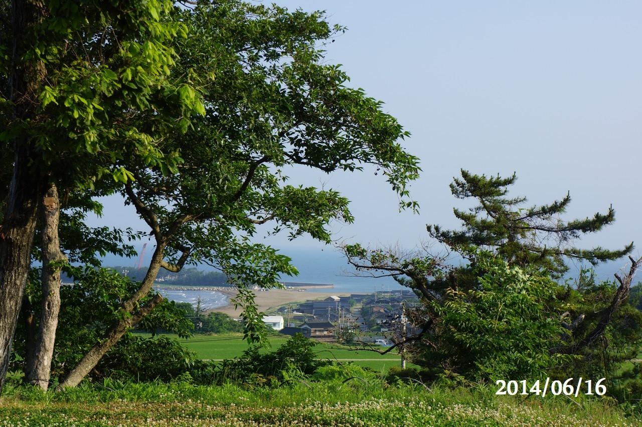6月16日:日本海のうつろい