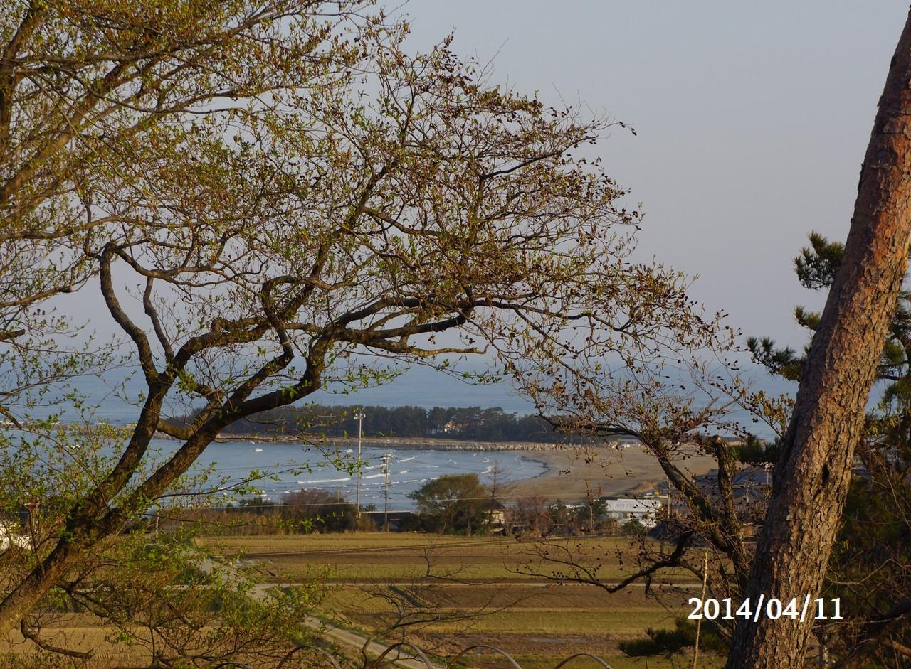 4月11日:日本海のうつろい