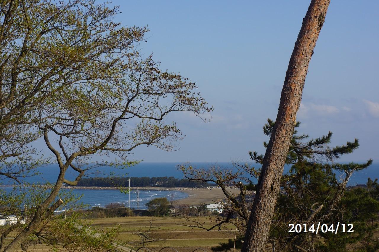 4月12日:日本海のうつろい