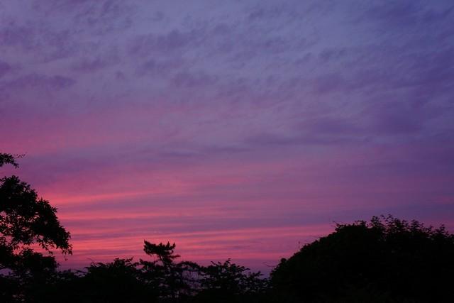 6月22日:夕空
