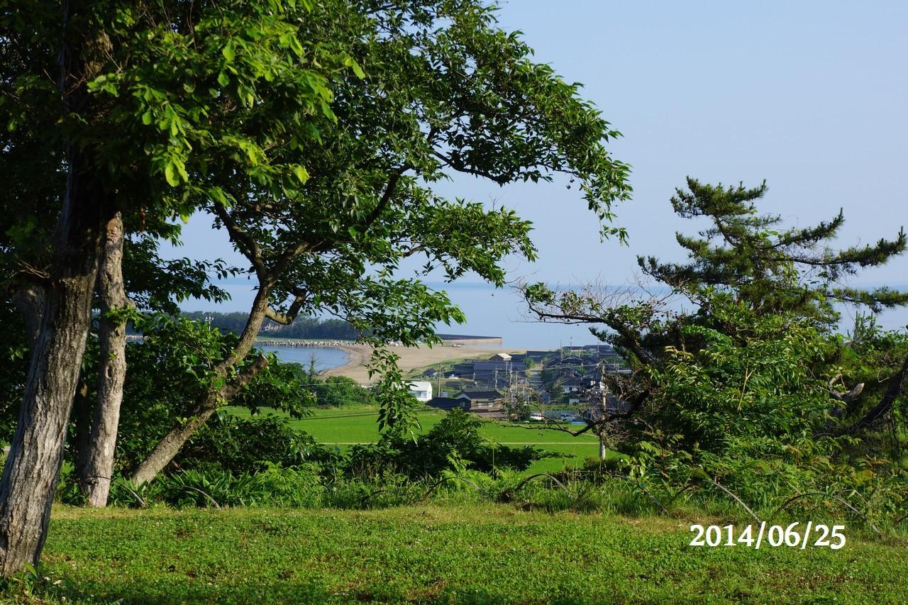 6月25日:日本海のうつろい