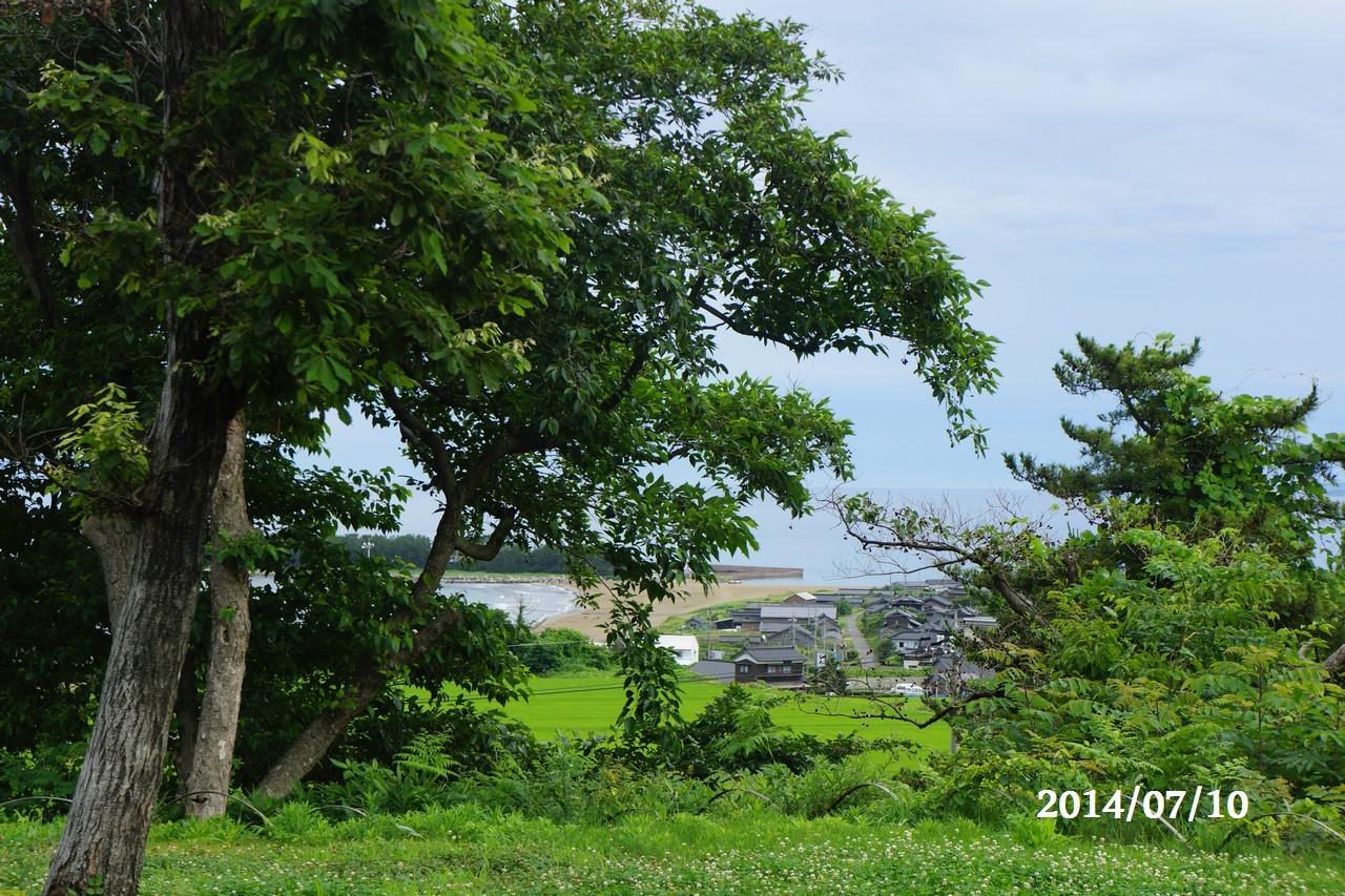 7月10日:日本海のうつろい