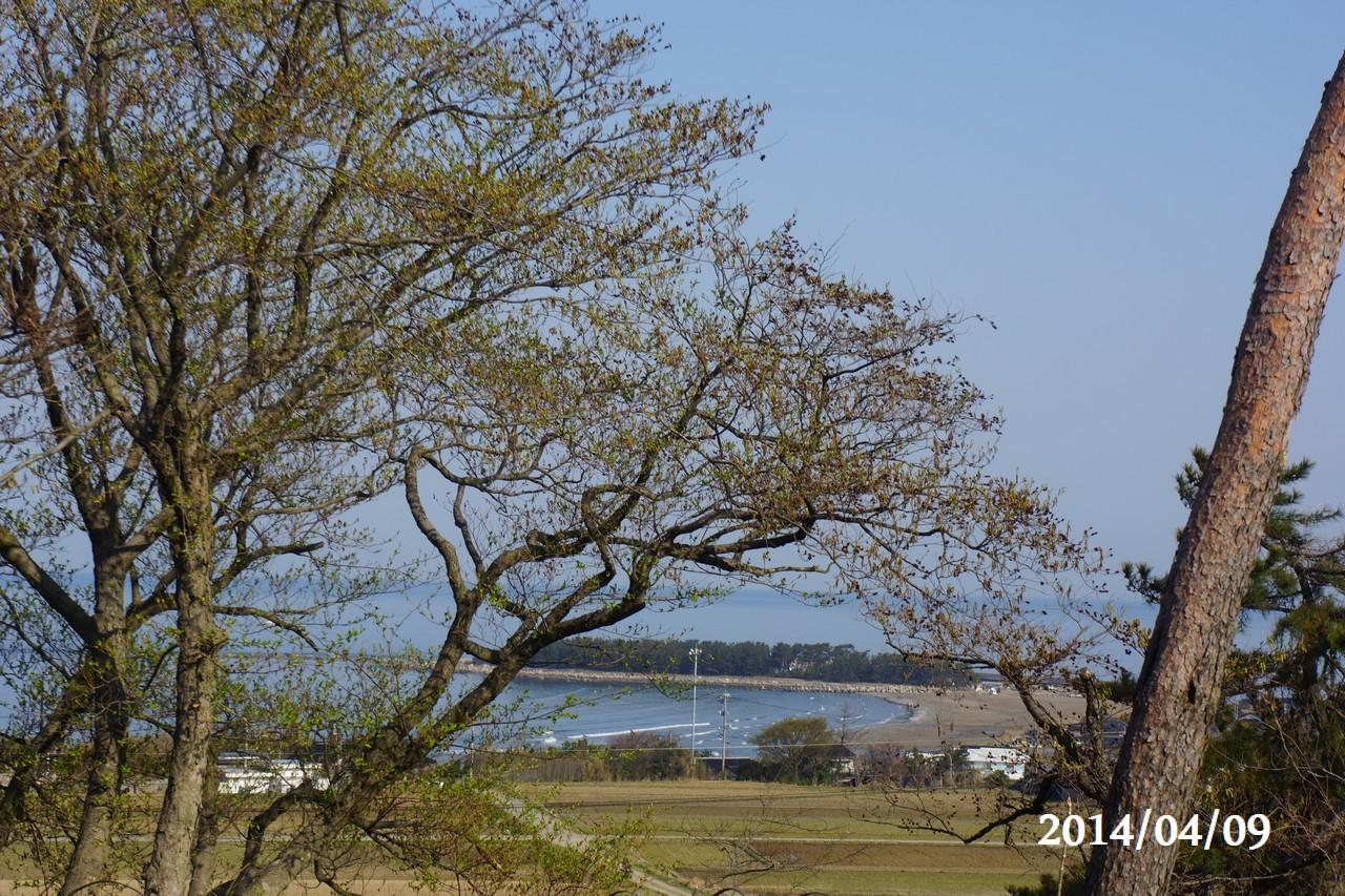 4月9日:日本海のうつろい