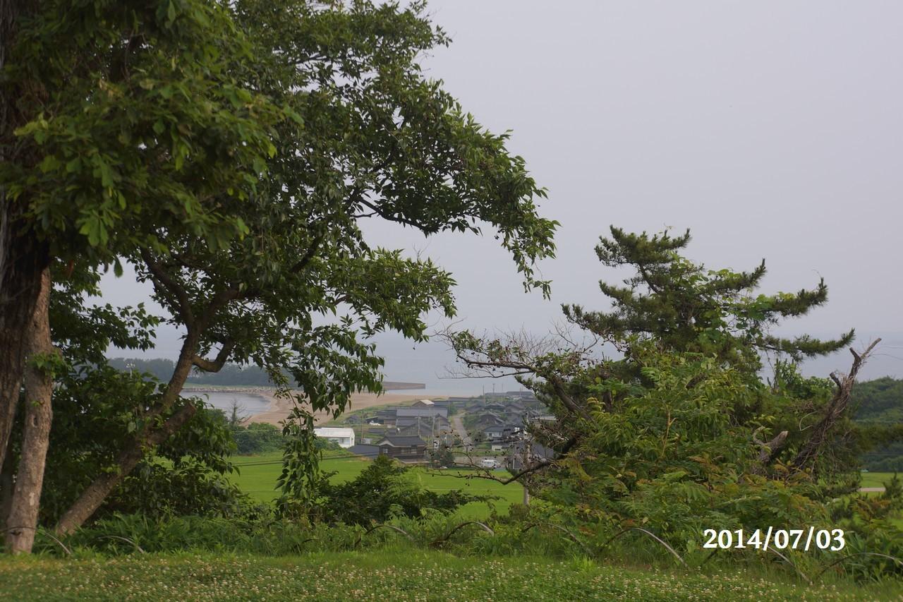 7月3日:日本海のうつろい