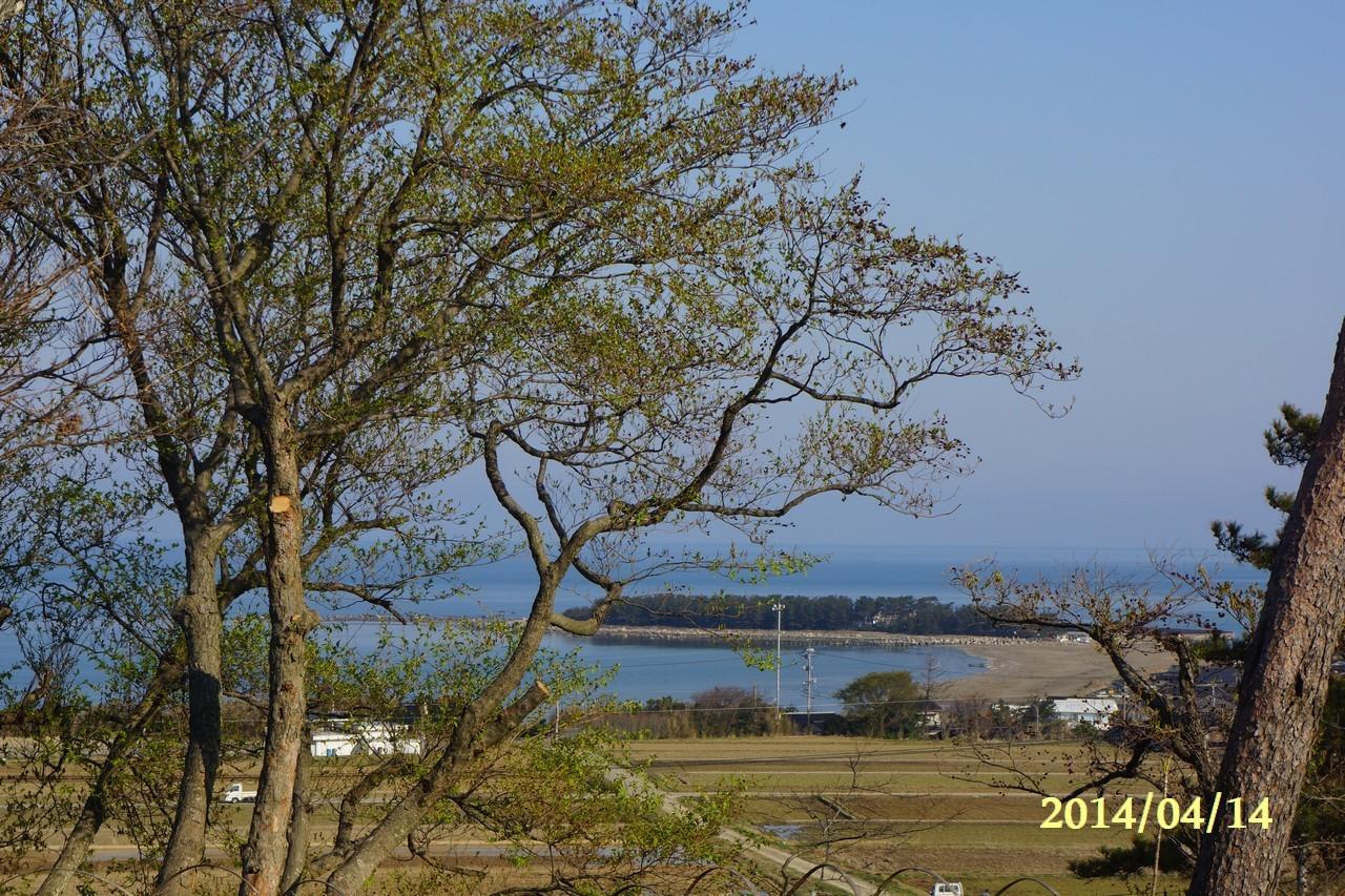 4月14日:日本海のうつろい