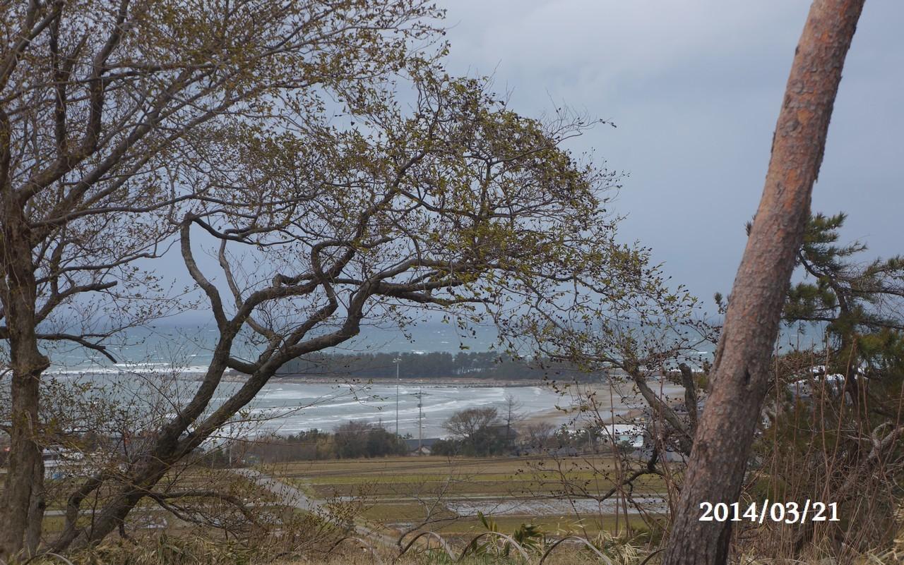 3月21日:日本海のうつろい
