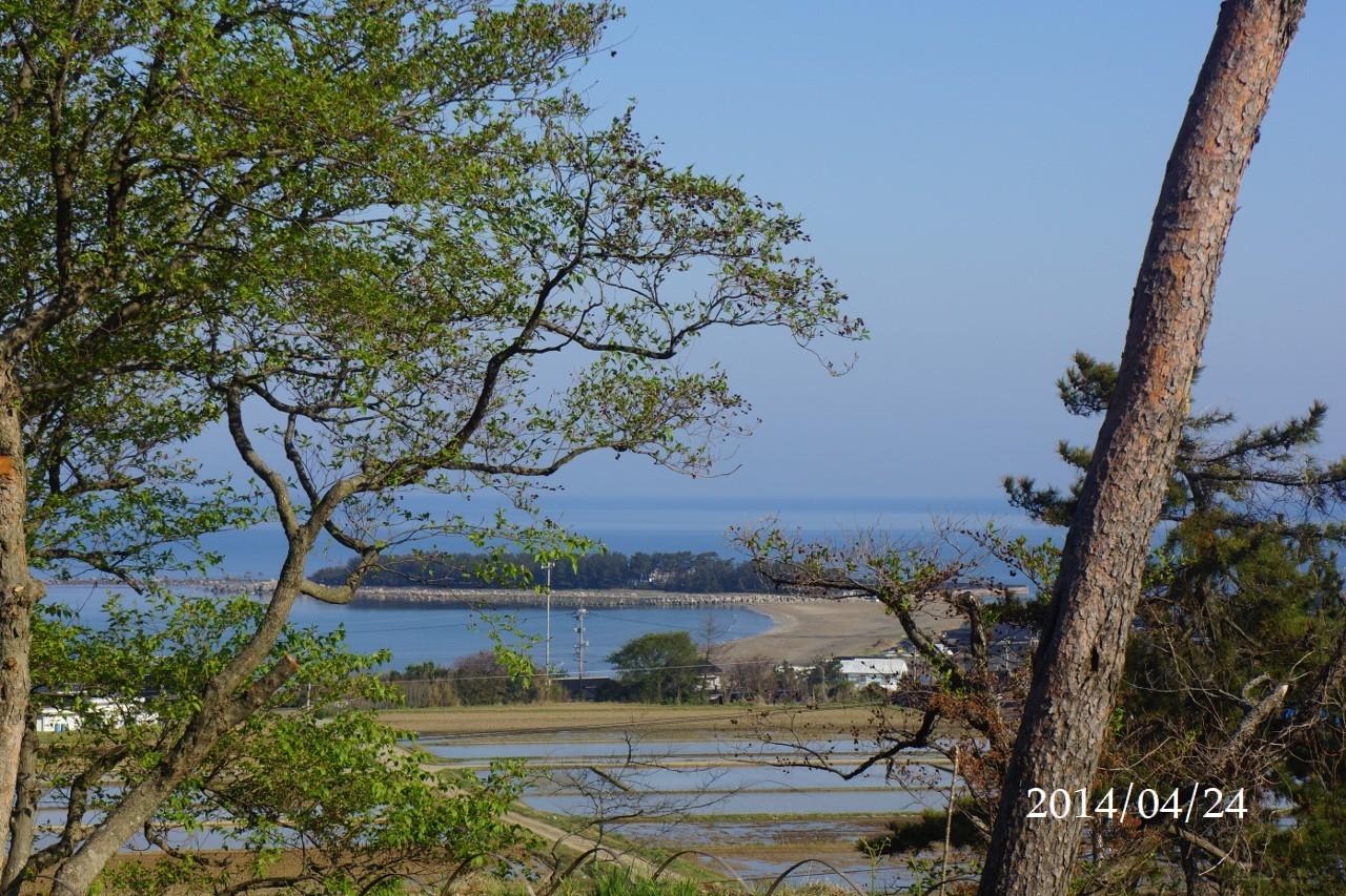 4月24日:日本海のうつろい