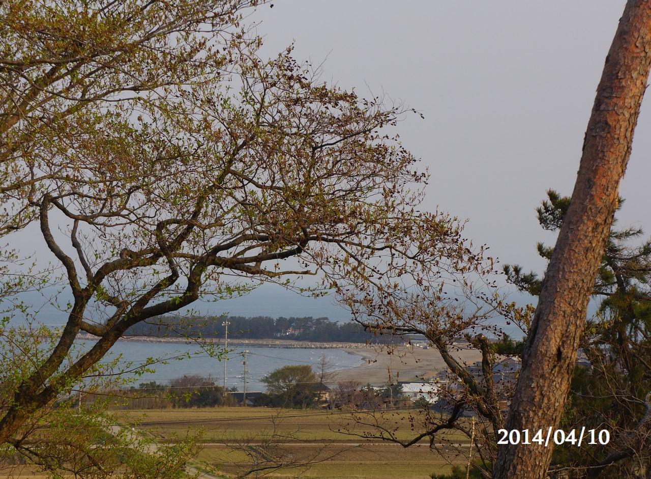4月10日:日本海のうつろい