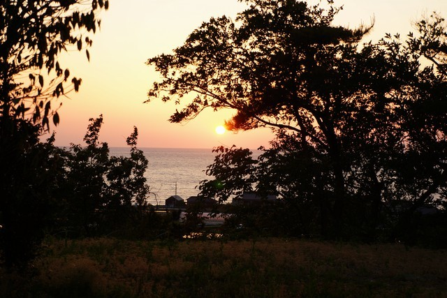 5月10日:美しい夕日