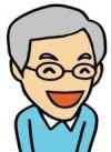 加藤隆さんの似顔絵