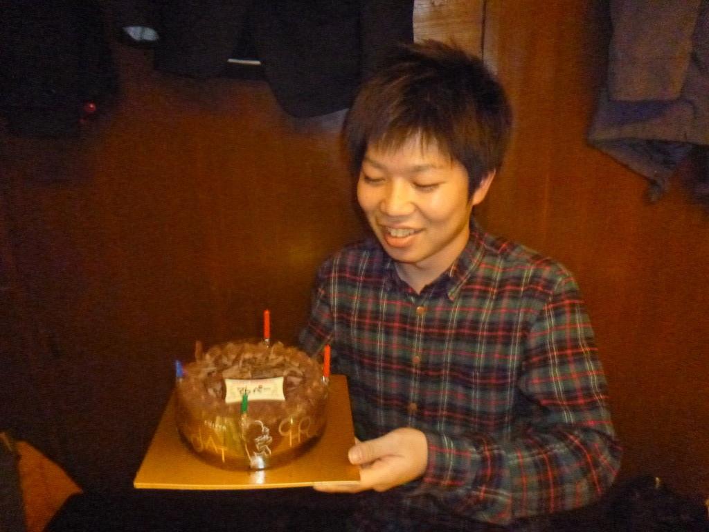 てっぺー君誕生日おめでとう♪
