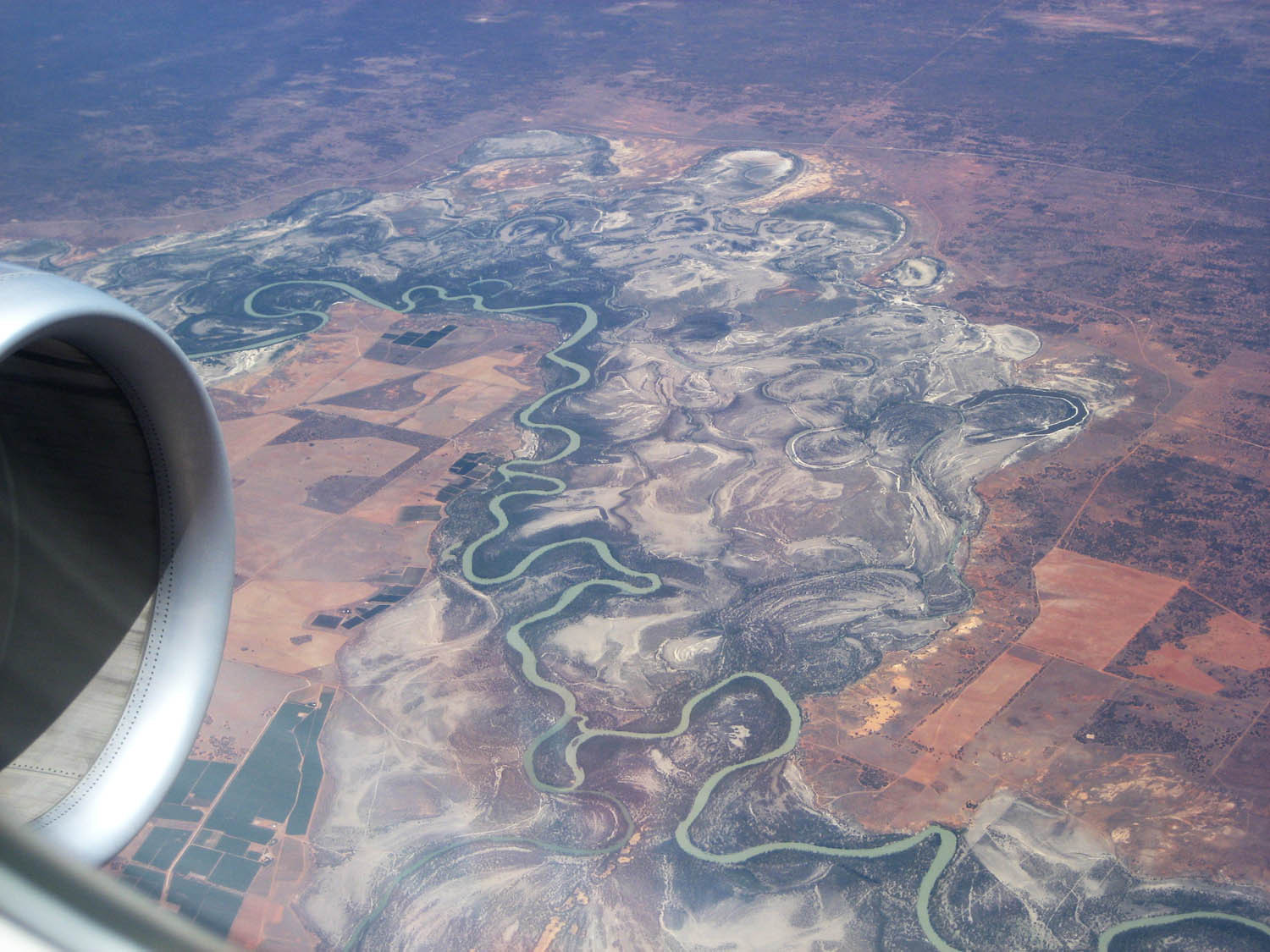 Meandering Murray River in South Australia (or maybe Victoria)