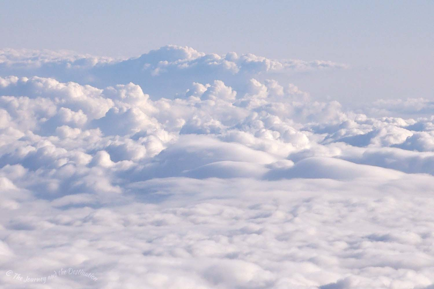 Cloudscape over northern Europe