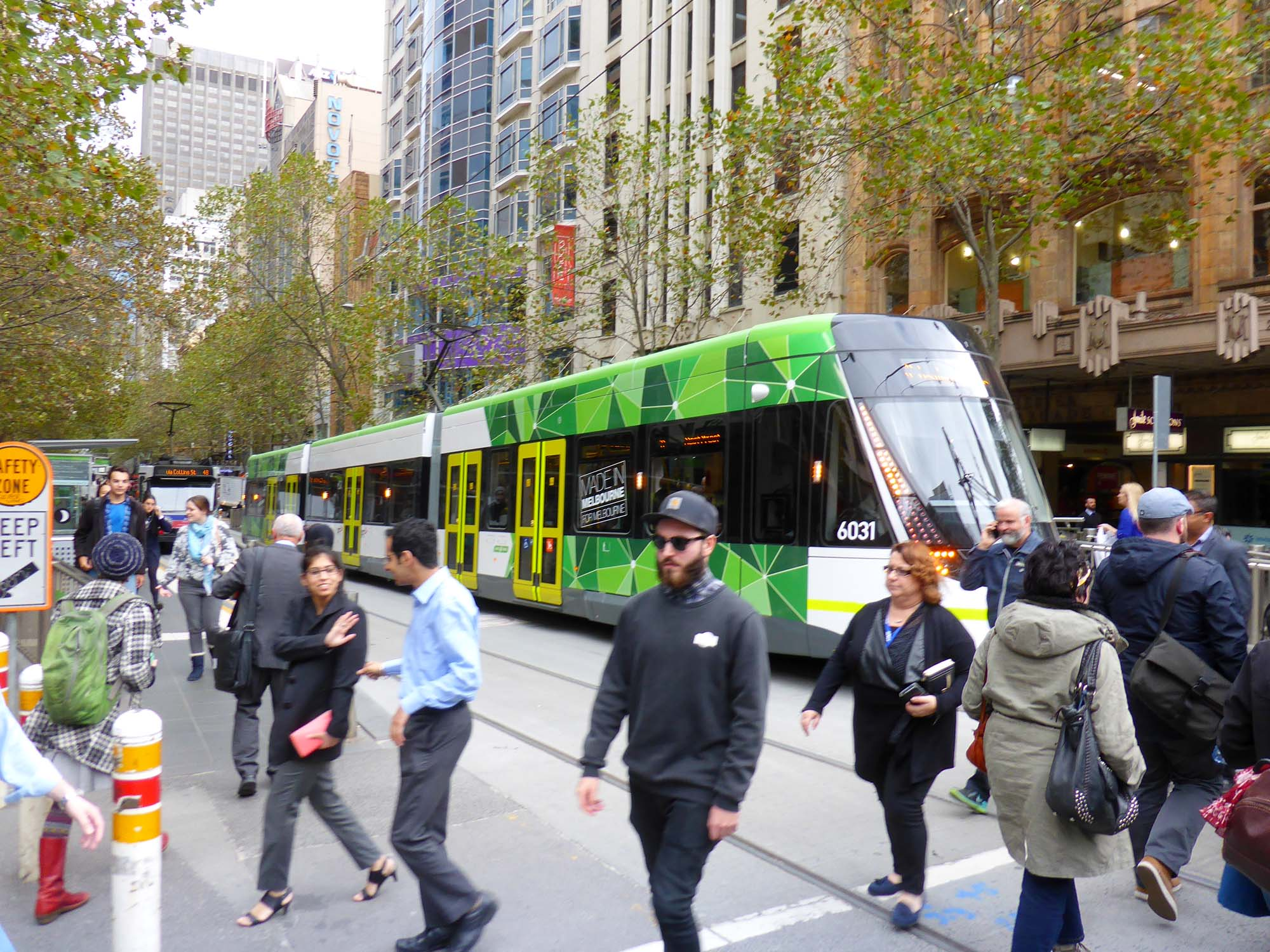 A Melbourne commuters' tram