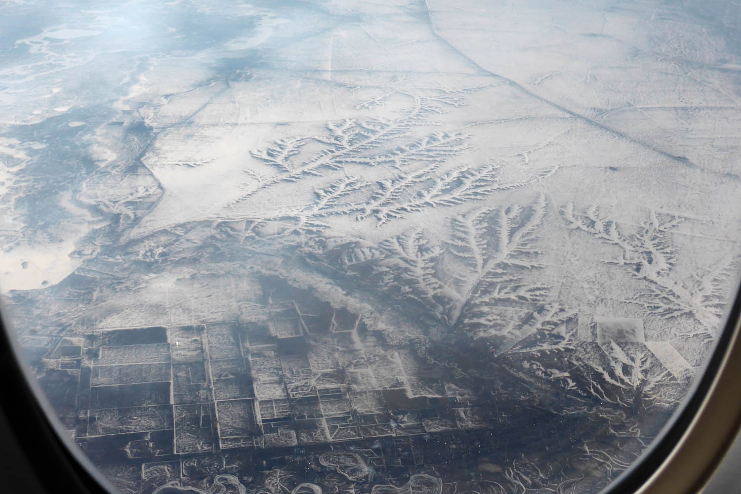 Frozen sub-Arctic landscape, Russia (or maybe Mongolia)