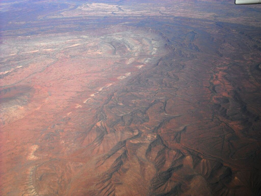 Ancient Central Australian mountains