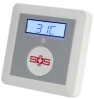 Wireless GSM alarm one wired input port and sixteen motion sensor zones detection camera