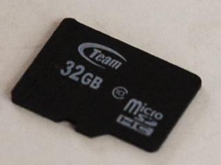Micro-SDカードの故障のイメージ画像