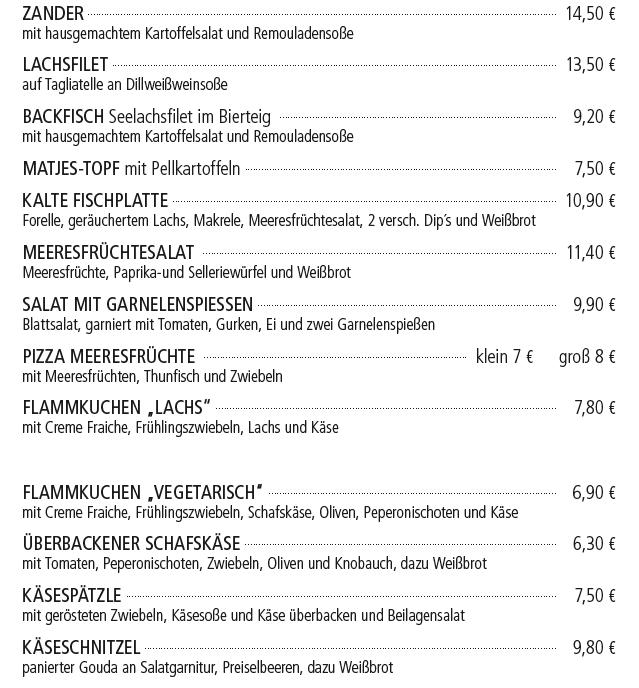 Fischwoche - Kelterschänke Elsenfeld