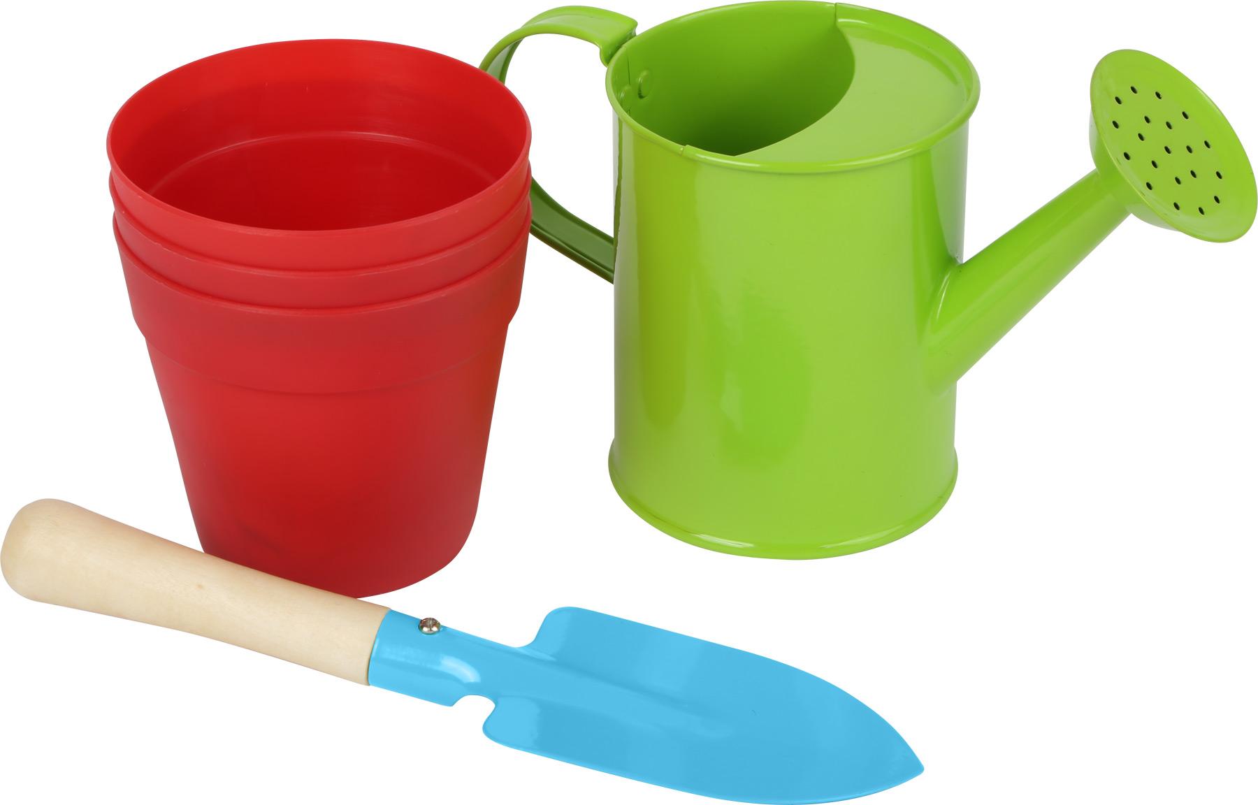 Gartengeräte-Set mit Tasche Sandkasten Sandspielzeug Gartentasche Spielzeug