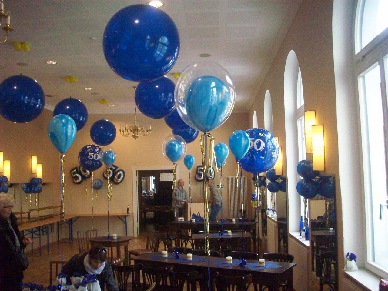 Bubble-Balloons im Marmor-Design wirken edel und zeigen keine 50.