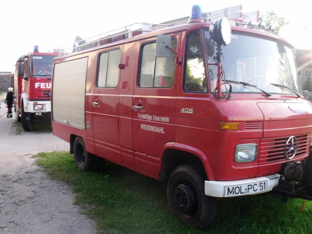 Feuerwehrübung am 20.08.2011, Dorfstraße 03