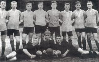 Mannschaft im Gründungsjahr 1922