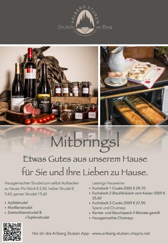 Mitbrings aus Arlberg Stuben