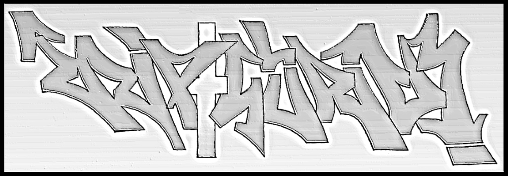 Rip✝Guru - 180°Rotation (Ambigramm)