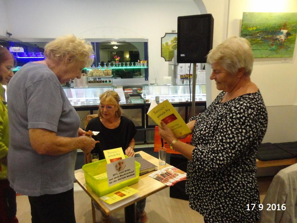 Schön, daß auch Gertrud und Anni meinen Reim-Mix mitnahmen!