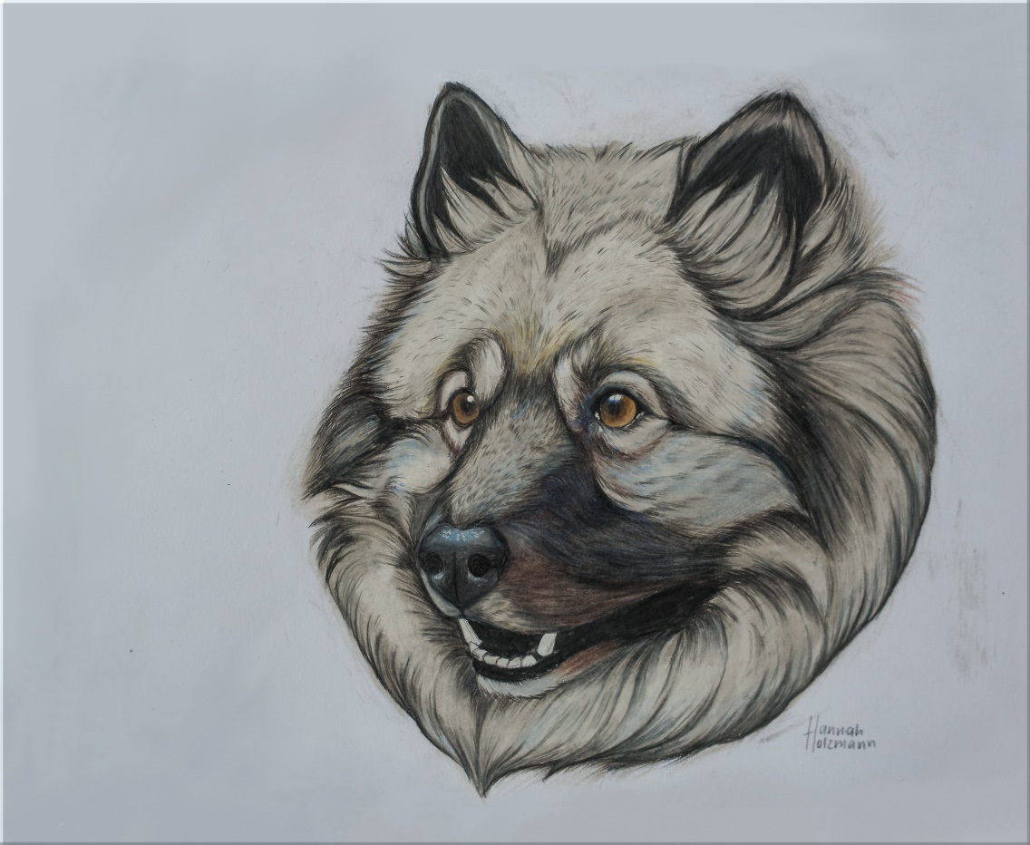 Ein wunderbares Portrait von Emely, gemalt von einer knapp 18-jährigen Künstlerin
