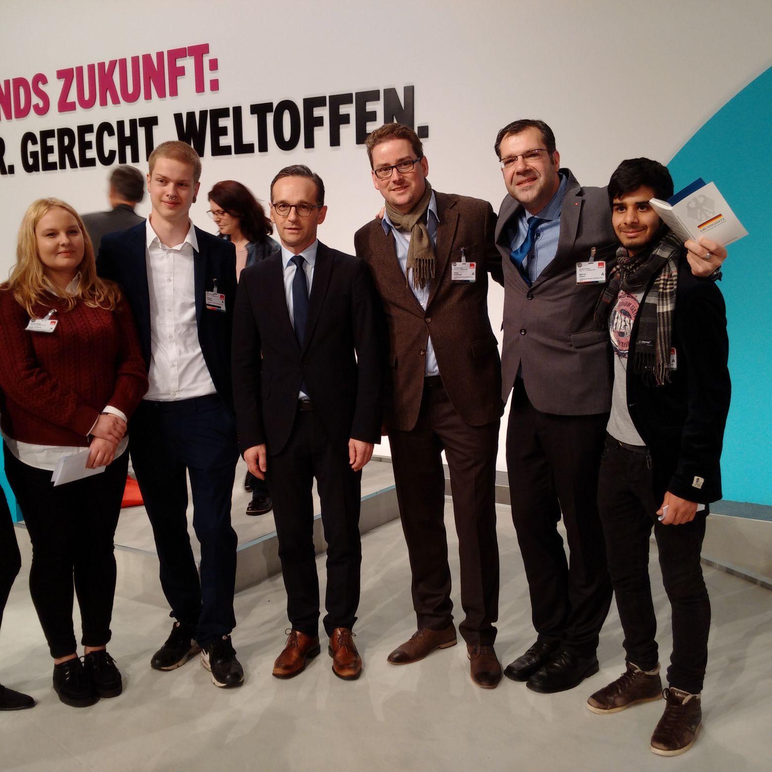 Vorstellung Schülerinitiative auf dem SPD-Bundesparteitag