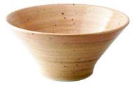 HB桃山粉引_6.0モダ麺鉢